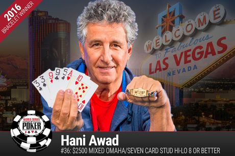 Hani Awad Vence Evento #36: $2500 Mixed Omaha/Seven Card Stud Hi-Lo 8 or Better ($213.186)