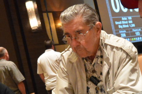 91-Year-Old Ray Cuny Headlines Day 1b of 2016 Hollywood Poker Open Championship Event