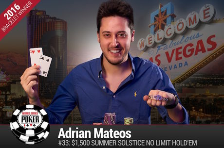 Adrian Mateos Vence Evento #33: $1.500 Summer Solstice NLH ($409.171)