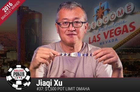 Jiaqi Xu Vence Evento #37: $1500 Pot-Limit Omaha ($212.128)