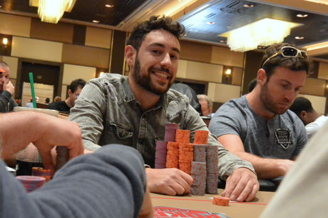 Aaron Mermelstein Leads Final 21 in 2016 Hollywood Poker Open Championship Event