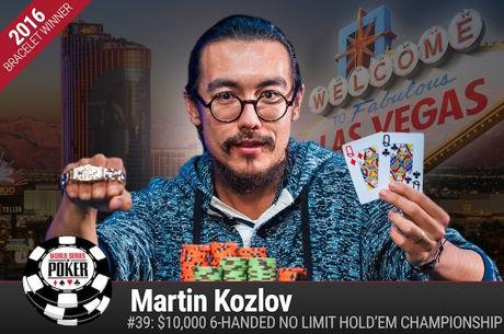 Martin Kozlov Vence Evento #39: $10k 6-Máx NLH Championship ($665.709)