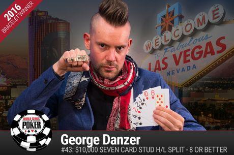 WSOP Event #43 - George Danzer wint $10.000 Stud Hi/Lo Championship ($338.646), Bonomo derde