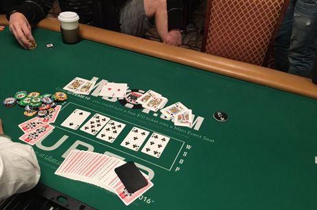 """""""World Series of Poker"""" čempionate - dvi neįtikėtinos partijos"""