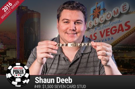 Online Poker Star Shaun Deeb Adds to His Live Legend with a 2nd WSOP Win