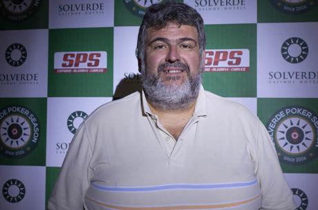 Atanes, Armesto e Gomes Lideram Dia 1 da Etapa #8 Solverde Poker Season