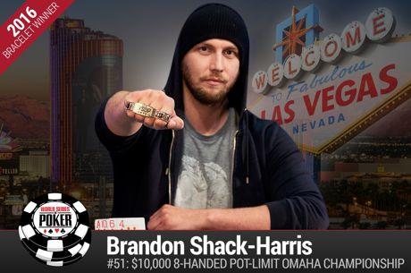 Ο Brandon Shack-Harris κατακτά το 2016 WSOP PLO Championship