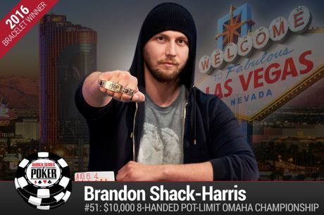 Brandon Shack-Harris Ganhou o Evento #51: $10,000 8-Handed Pot-Limit Omaha Championship