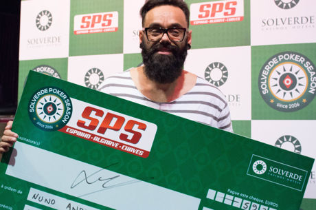 "Nuno ""Che"" Andrade Vence Etapa #8 da Solverde Poker Season (€5.936)"