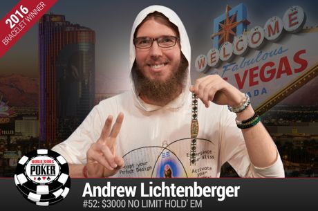 Andrew Lichtenberger Wins First Bracelet, Credits Lifestyle and Healthy Eating