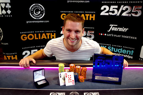 Brett Kennedy Takes Down 2016 GUKPT London For £45,470