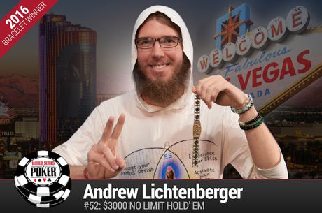 Andrew Lichtenberger Vence Evento #52: $3000 No-Limit Hold'em ($569.158)