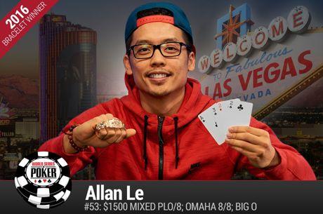 WSOP Day 33: A Great Day for Allan Le, Michael Mizrachi Hot in PPC Again