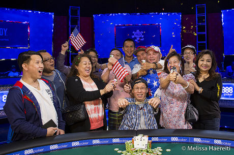 Hung Le Vence Evento #54: $888 Crazy Eights 8-Handed NLH ($888.888)