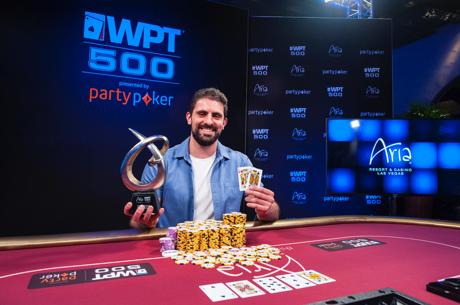 Andreas Olympios de short a campeón del WPT500 del ARIA por $260.000