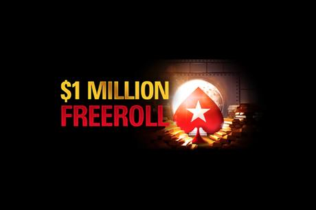 Segundo (de 4) $1 Million Freerolls a 17 de Julho no PokerStars