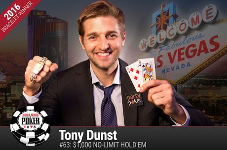 Tony Dunst Vence Evento #63: $1,000 No-Limit Hold'em  ($339.254)