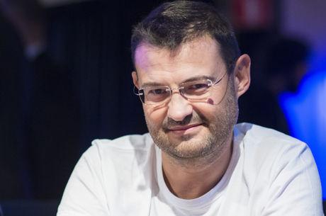 Rumen Nanev no Dia 2 do Main Event WSOP 2016; Andrey Zaichenko Lidera