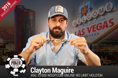 Clayton Maguire Vence Primeiro Evento Online $1k WSOP.com ($210.279)