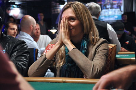Emotions Run High for Gaelle Baumann, Last Woman Standing in 2016 WSOP Main Event