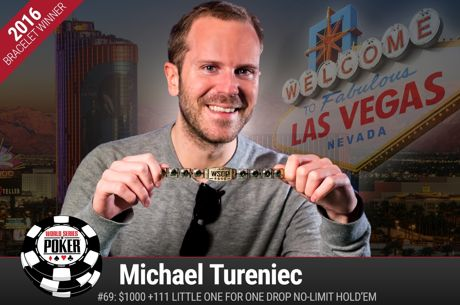 WSOP Event #69 - Michael Tureniec verslaat Calvin Anderson en wint $1.111 Little One for One...