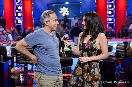 Cliff Josephy, Chip Leader November Nine '16 Falou com a PokerNews