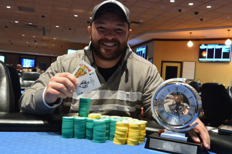 Kurtis Boutelle Wins the 2016 Seneca Summer Slam $1,000 Deep Stack High Roller