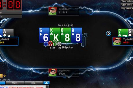 "888poker pristato naujo formato ""BLAST"" turnyrus"