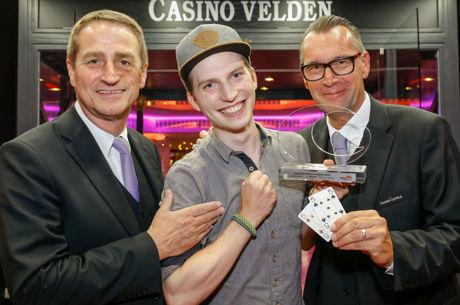 Der neue Poker Europameister heißt Matthias Habernig