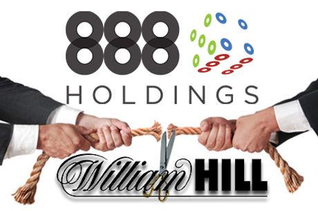 888 Holdings и Rank обмислят сливане и оферта за закупуването на William Hill