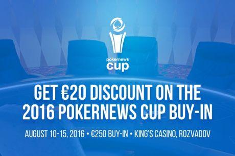 Ecco Come Vincere Facilmente €20 Grazie al PokerNews Cup Main Event