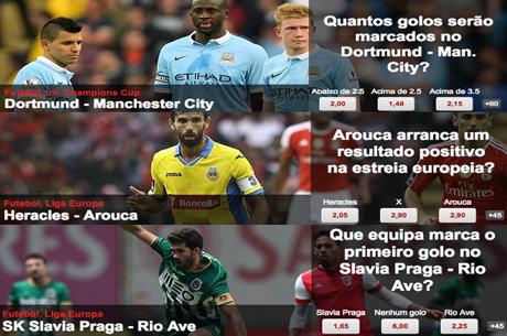 Manchester City, Arouca e Rio Ave são os Destaques do Dia na Betclic