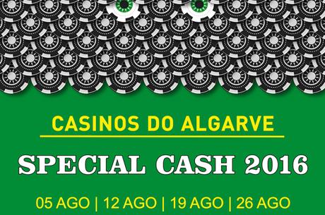 Special Cash no Casino de Vilamoura a 5 de Agosto