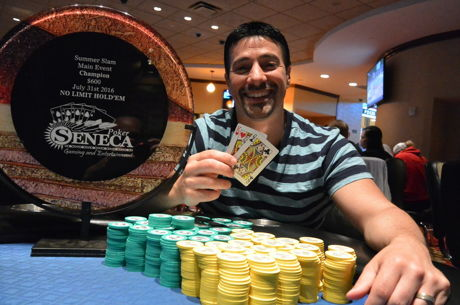 Rochester Chiropractor Wins The 2016 Seneca Niagara Falls Summer Slam Main Event