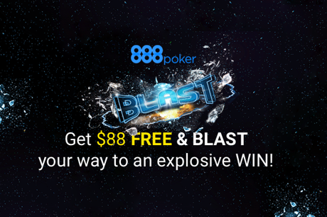 888poker Introduces the Lottery-Style BLAST on July 25