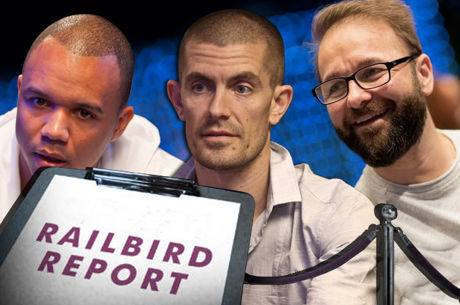 The Railbird Report: Negreanu Faces Phil Ivey and Gus Hansen in $2,000/$4,000 Game