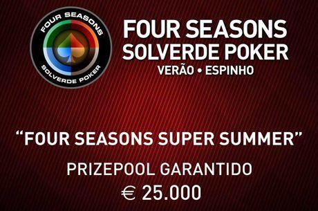 Four Seasons Super Summer: António Machado Chip Leader com 27 em Jogo