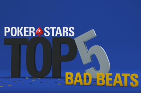 WATCH: Top Five Bad Beats At PokerStars Events