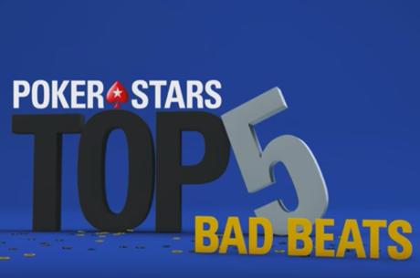 TOP 5: apmaudžiausi pralaimėjimai PokerStars gyvo pokerio turnyruose (VIDEO)
