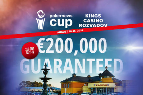 PokerNews Cup And Massive Celebrity Cash Game to Hit King's Casino This Weekend!