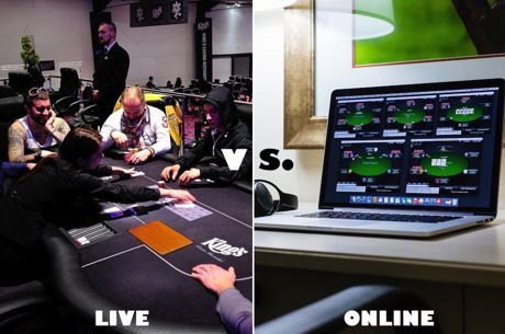 What is the Biggest Difference Between Live and Online Poker?