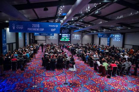 """""""PokerNews Cup"""" antroji pagrindinio turnyro diena: kovą dėl didžiųjų prizų pratęs..."""