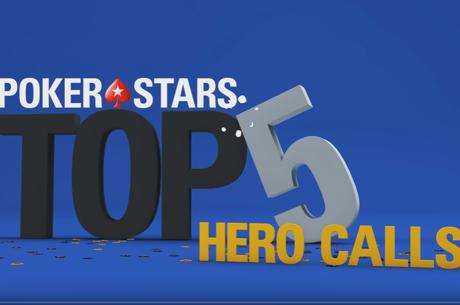 [ВИДЕО]: PokerStars.tv топ 5 геройски плащания