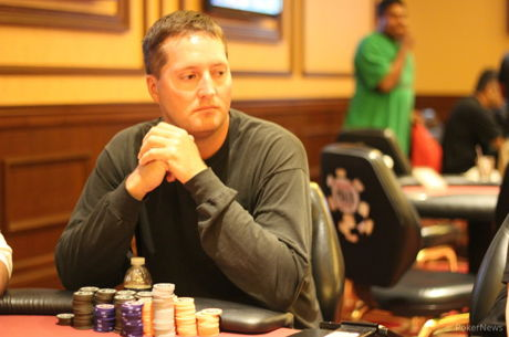 Russell Licking Bags Day 1a Lead at RunGood Council Bluffs