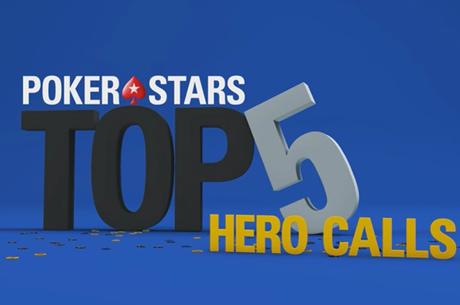 Os 5 Maiores Hero Calls Captados em Vídeo pela PokerStars