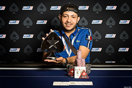 Мохамед Самри - победитель главного турнира Estrellas 7...