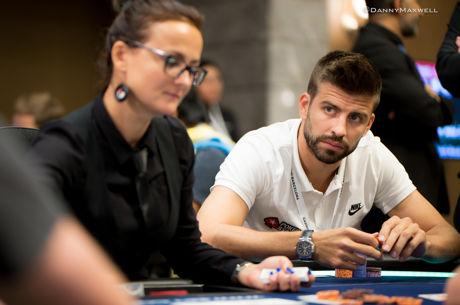 Du foot au poker, le joueur du FC Barcelona Gerard Piqué score aussi à l'EPT