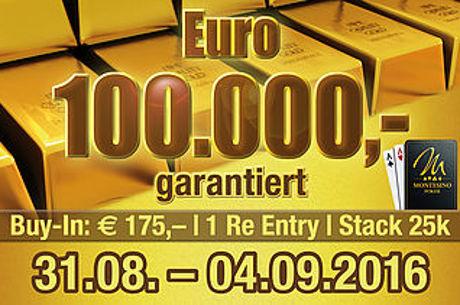 € 100.000 garantiert mit 3rd Chance Freeroll im Montesino
