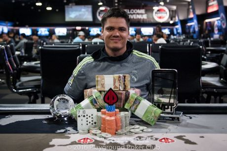 Nathan Hall Wins WPT National Montreal at Playground Poker Club's World Cup of Cards for $70,974