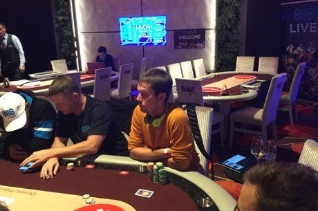 888Live Tallinn: Mauri Dorbek Holds Chip Lead After Day 1